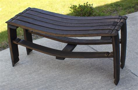 wine bench wine barrel stave bench stave designsstave designs