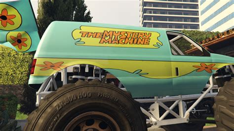 scooby doo truck quot mystery machine quot truck from scooby doo gta5