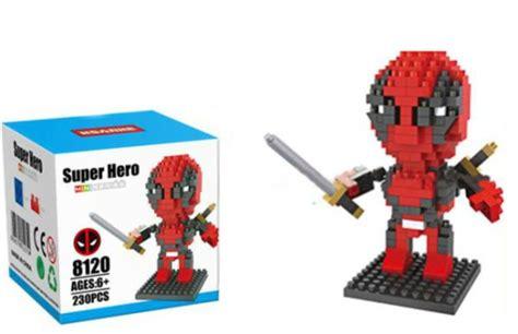 Lego Hsanhe Mini 6407 mini lego deadpool hsanhe mini blocks juicebubble