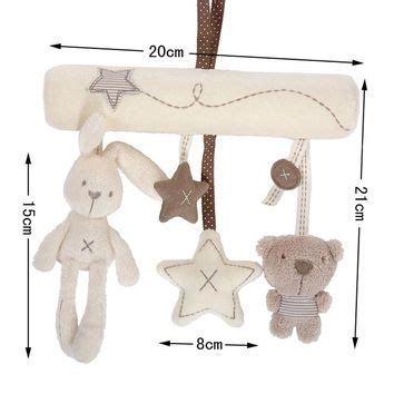Bunny Plush Mamas Papas Doll Boneka Kelinci Pink Ballerina best baby cot mobiles products on wanelo