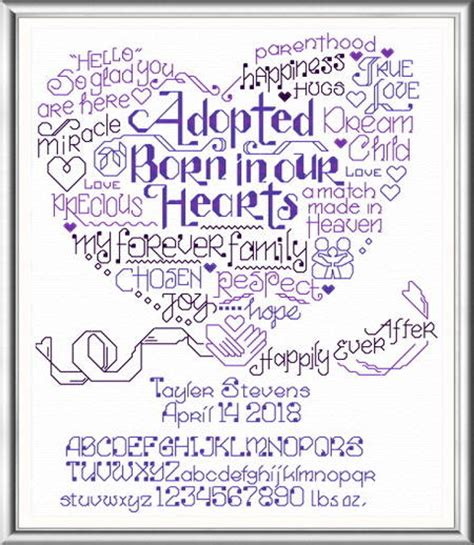 cross stitch pattern maker words let s adopt cross stitch pattern words