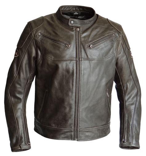 Motorrad Lederjacke Ohne Protektoren by Motorradjacke Lederjacke Braun Ohne Streifen Aus Nappa Leder