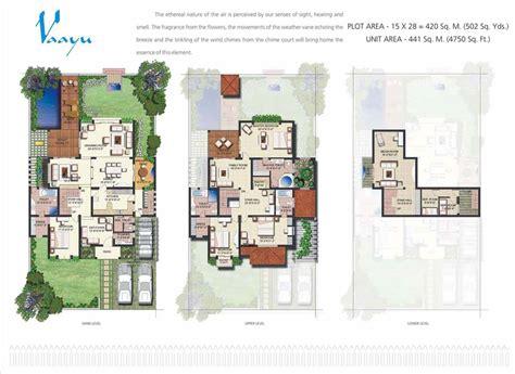 tatvam villa layout plan tatvam villas floor plan sector 48 sohna road gurgaon