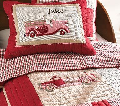 Firefighter Crib Bedding Jake S Truck Nursery Bedding Williamssonoma Baby Lovin Truck Nursery