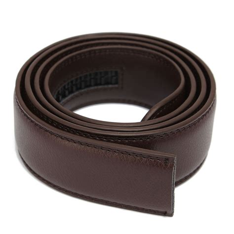 replacement luxury leather belt for automatic casual