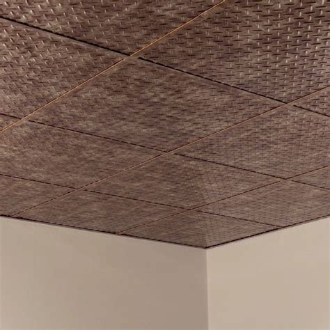 plate ceiling tiles fasade plate revealed edge bermuda bronze 2 foot