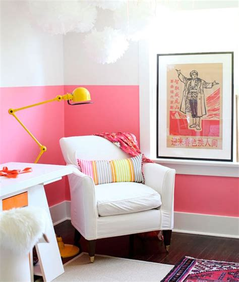 walls and trends paint dipped walls a colorful trend in interior d 233 cor