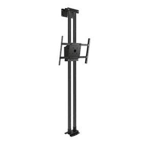 Tv Pole Mount Floor To Ceiling by Peerless Mod Fcskit300 B Modular Series Black Floor To