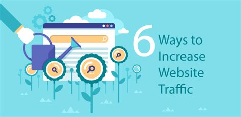 7 Tips On Increasing Website Traffic by 6 Ways To Increase Website Traffic