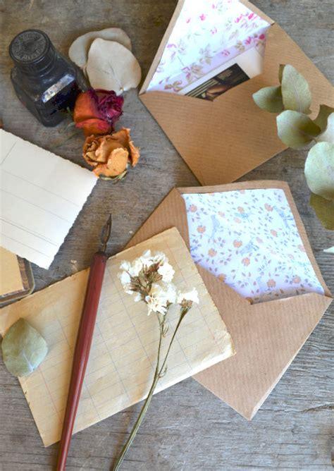 buste da lettere come fare delle buste da lettera dai da te tutorial la