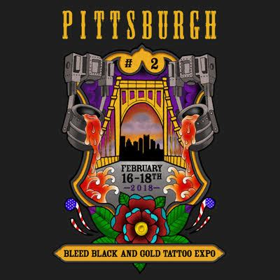 pittsburgh tattoo convention pittsburgh expo bleed black and gold exposed