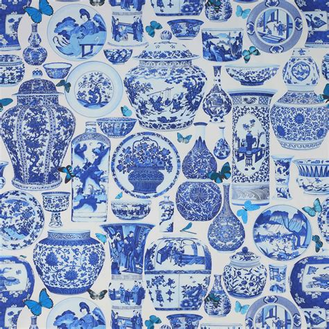 wallpaper delft blue blue and white monday blue and white fabric manuel