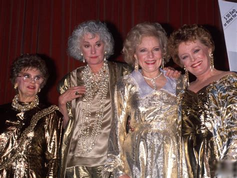 the golden girls street scene vintage