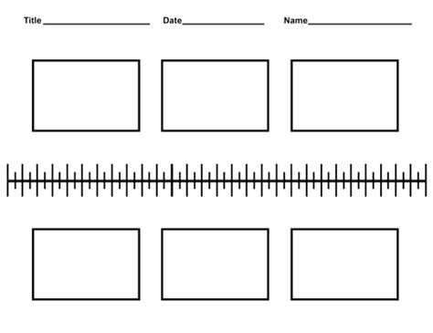 Free Blank History Timeline Templates For Kids And Students Blank Timeline Template