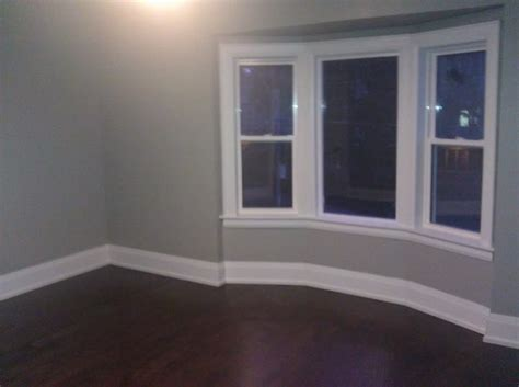 grey paint white trim floors rebuild