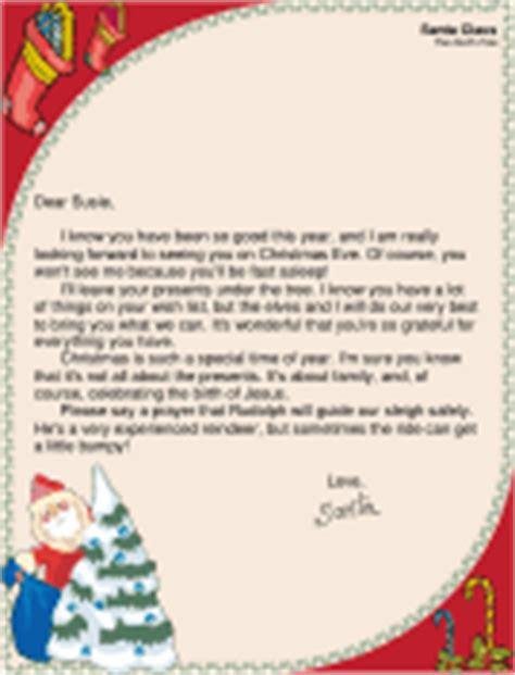 free printable religious letter from santa santa letter jesus