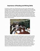 Image result for importance of reading strategies in essay writing