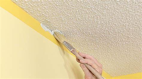 painting textured ceiling textured ceiling painting tips monkeysee