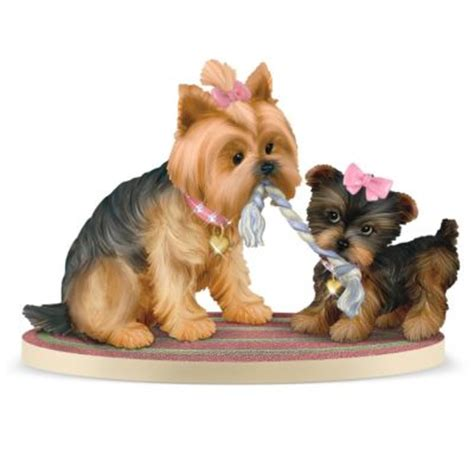 gifts for yorkie terrier figurines yorkie sculptures miniatures