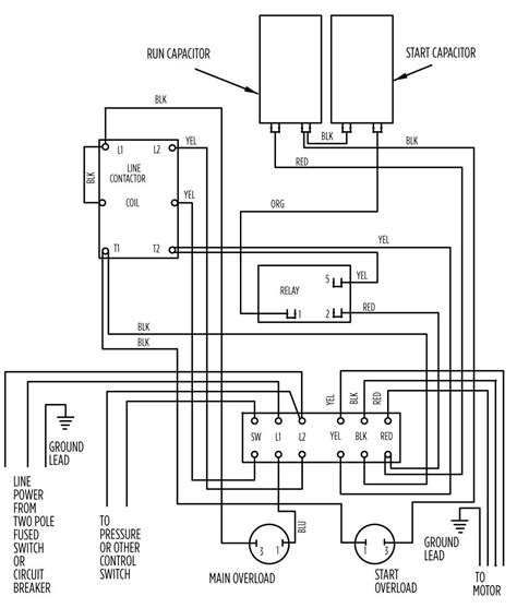 submersible well box wiring diagram wiring