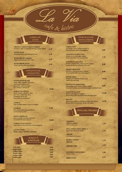 menu card layout ideas ideas dise 241 o cartas menus restaurantes ejemplos menu