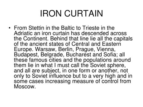 iron curtain sentence ppt aftermath powerpoint presentation id 5116249