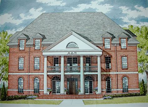 sorority houses university of tennessee sorority village adpi house i get to live here next year