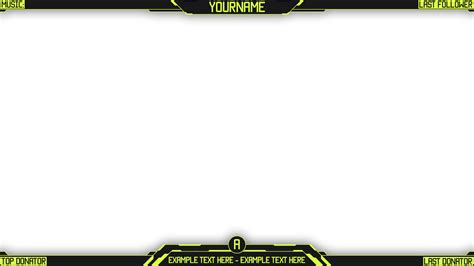 Facecam Overlay Template Bing Images Twitch Template