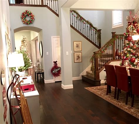 walk into dining room from front door christmas home tour 2015 the well styled child