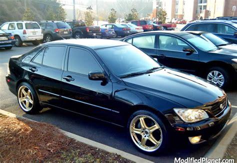 2002 lexus is300 rims 2002 lexus is300 with gold 18 quot volk racing gtc wheels