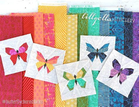 printable paper quilt patterns butterfly charm block paper piecing patterns lillyella