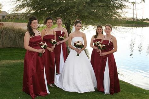 Wedding Dress Maroon by Wedding Planning White Maroon Wedding Dresses For