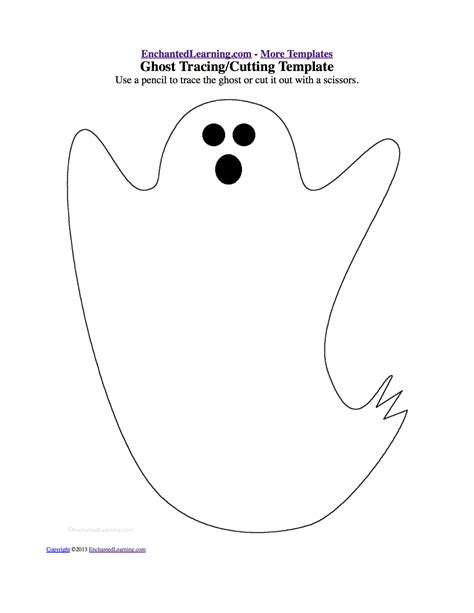 large ghost coloring page best photos of large ghost template halloween ghost cut