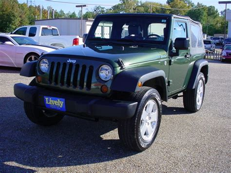 Jeep Wrangler 08 Jeep Wrangler 4wd 2dr X 08 Jeep Wrangler 4x4 4wd 2dr