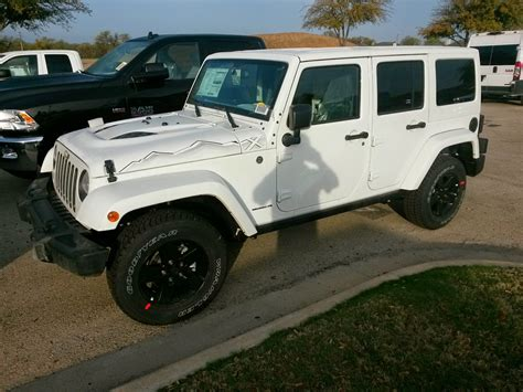 new jeep white new 2015 jeep wrangler unlimited rubicon hard rock edition