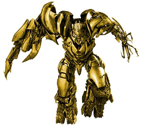 Transformers Gold megatron rotf gold promo 2 by barricade24 on deviantart