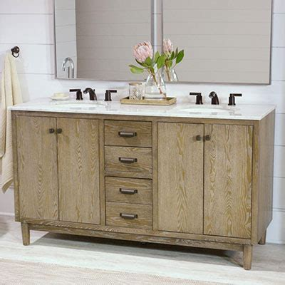 Rustic Modern Bathroom Vanities by Bathroom Vanities The Home Depot