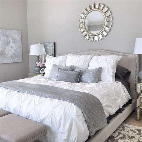 gray room decor modern bedroom design with knit element fnw