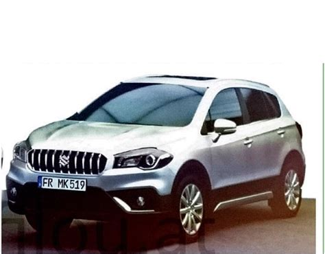 How Much Is Upholstery Maruti S Cross Face Lift Spied Up Close India Launch In