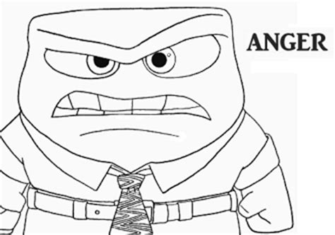 coloring page of anger from inside out anger coloring page from inside out sketch coloring page