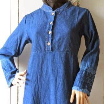 Baju Gamis Rompi Levis gamis levis spray gj1076 grosir baju muslim murah tanah abang