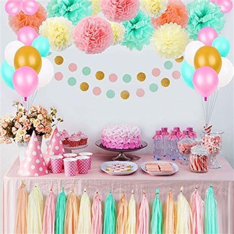 como decorar un salon para 15 años sencillo partido anivers 225 rio decora 231 245 es pom poms flores estojo