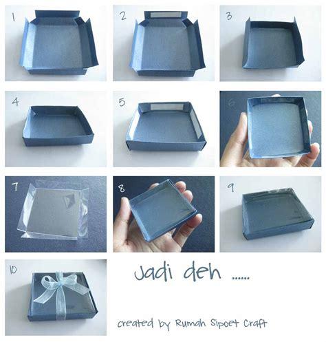 tutorial bungkus kado kotak cara buat kotak papervie membuat kotak mika ukuran kecil