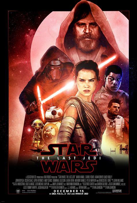 film star wars 2017 star wars the last jedi poster mockup by transinsano on
