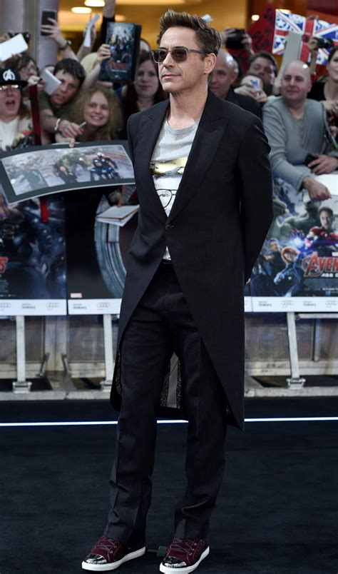 Robert Downey Jr Wardrobe by Robert Downey Jr Iron Style By Iron