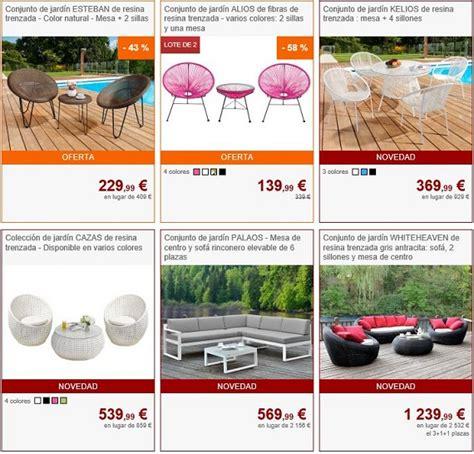 tienda de muebles online dise o muebles de jard 237 n online a precios baratos y de dise 241 o