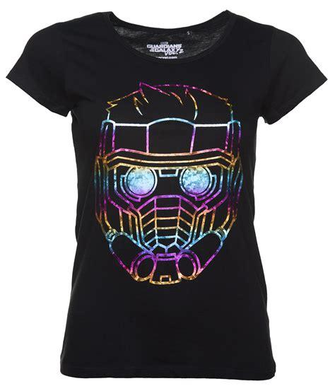 T Shirt Qunill Guardians Of The Galaxy Terbaru s black metallic rainbow lord guardians of the