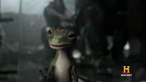 geico gecko jake wood geico tv commercial vikings ispot tv