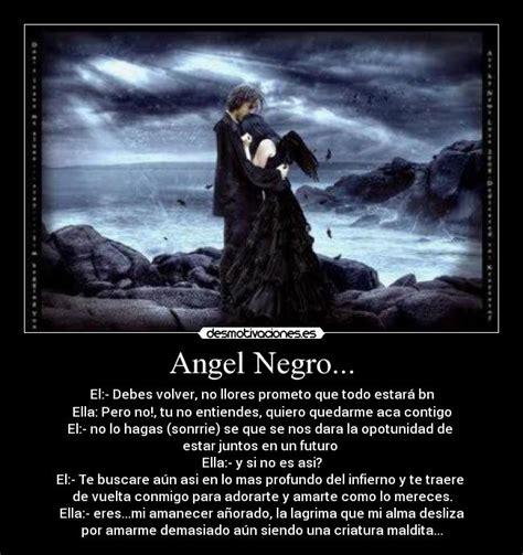 imagenes angel negro angel negro desmotivaciones