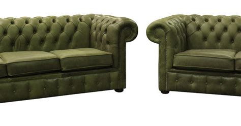 sage green leather sofa chesterfield suite 3 2 seater settee selvaggio sage green
